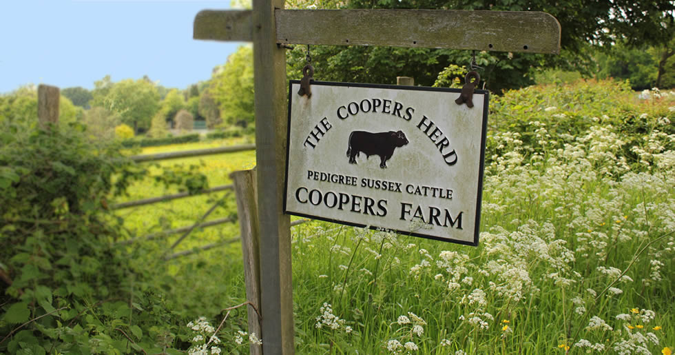 Coopers Farm Stonegate Sign
